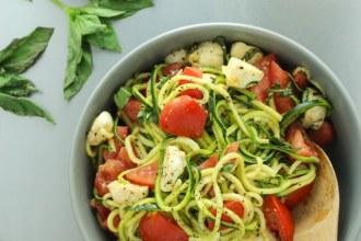 Zucchini Caprese Salad-6