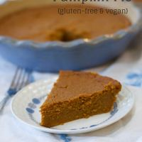 Easy Crustless Pumpkin Pie