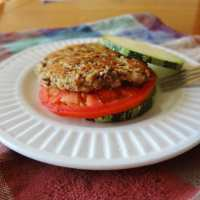 Zucchini Black Bean Burger