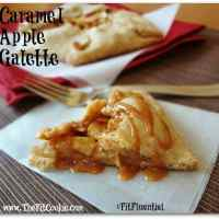 Caramel Apple Galette