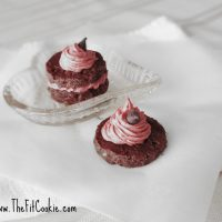Chocolate Truffles with Strawberry Cream 2