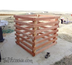 Astounding Home Depot Diy Compost Bin Build A Compost Bin Nurture Your Garden Way Home Depot Vegetable Garden Box