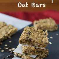 No-Bake Chocolate Chip Oat Bars