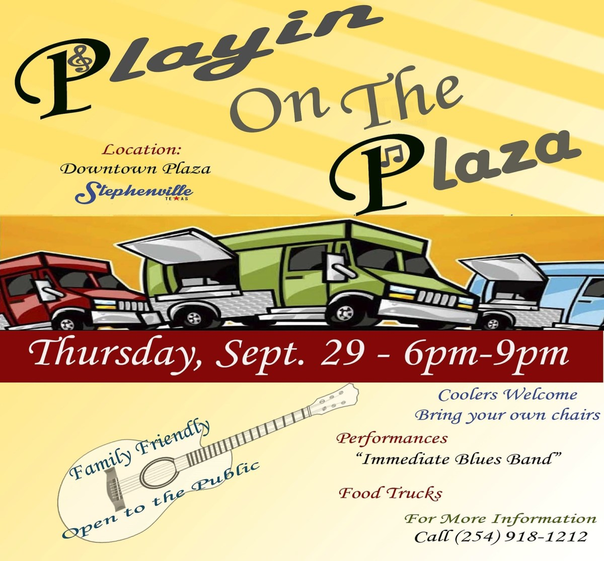 Food, live music and fall weather hit Downtown Plaza