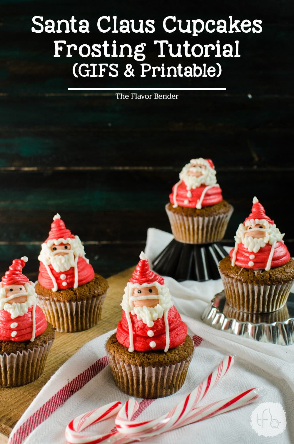 Décoration De Cupcake Santa Claus Cupcakes Santa Claus Frosting Decorating Tutorial