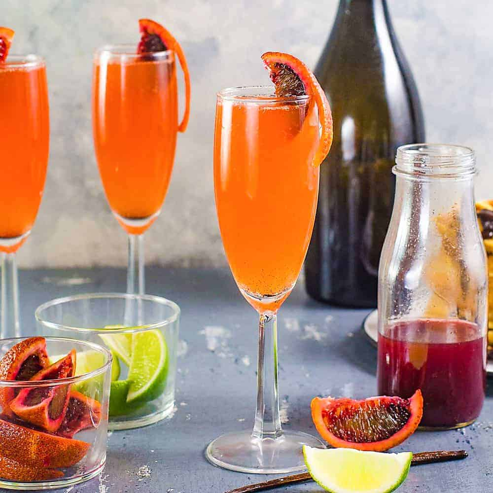 Drink Gin Gin And Blood Orange Mimosa