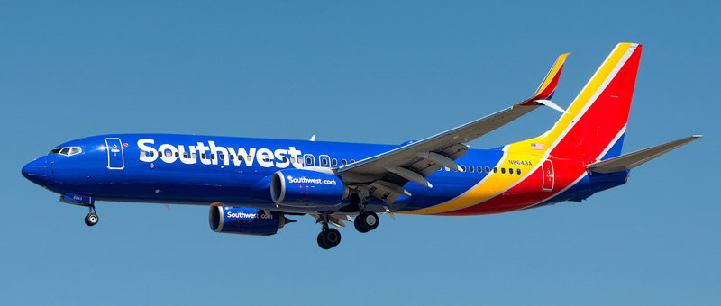 Southwest Airlines Reviews, seat maps and photos of the aircrafts