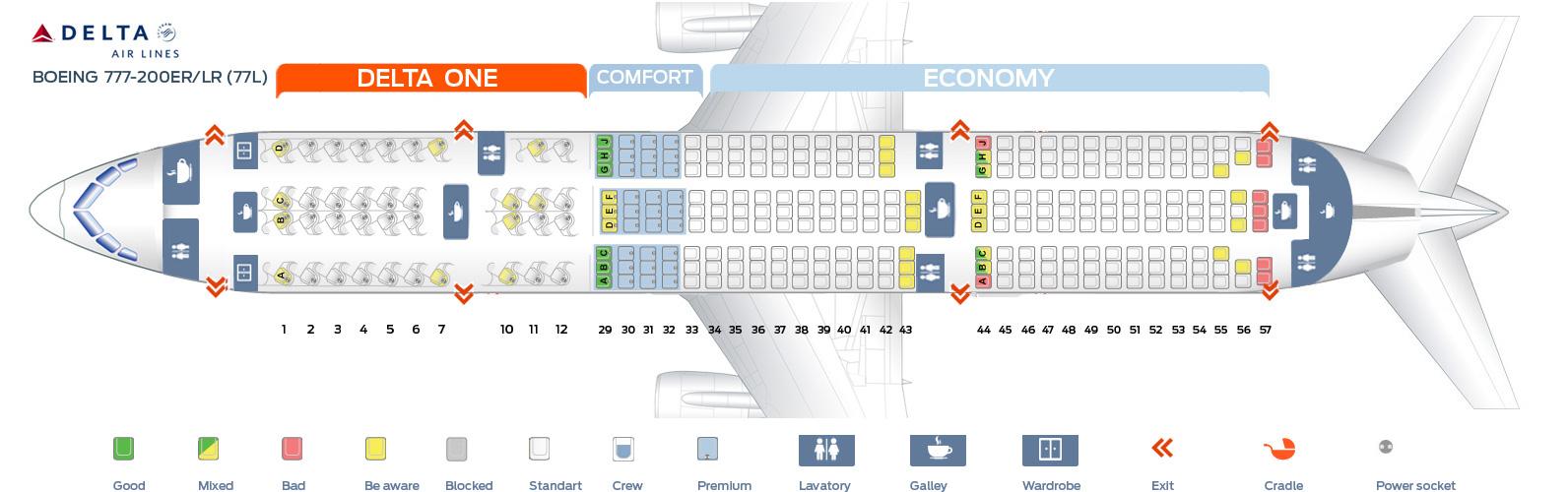 Boeing 777 200 Seat Map Bruin Blog