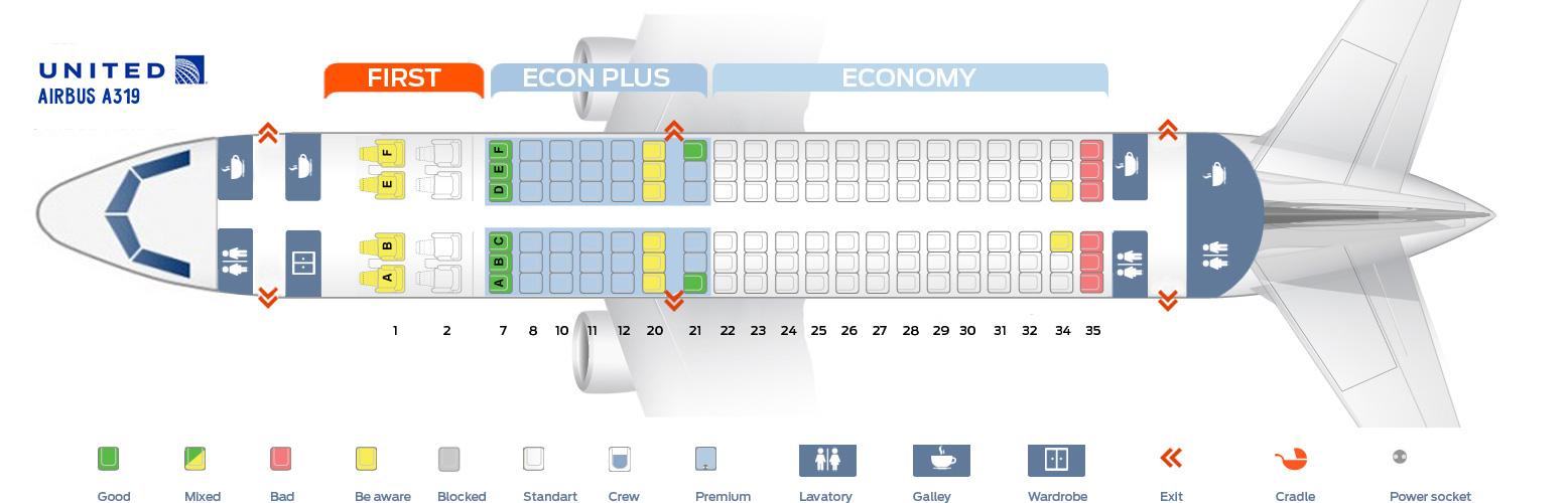 Us airways seat map