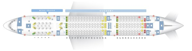 Seat Map Of The Boeing 787 8 788