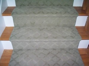 Carpet runner for stairs LA tone on tone