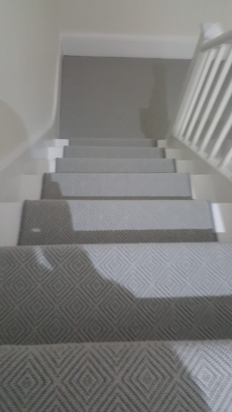 Patterned Carpet Stairs The Flooring Group