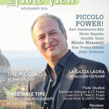 The November 2016 PICCOLO POWER Issue is Now Live!