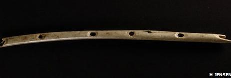 A Cave, a Bone, a Flute.  By Arlene Keiser and Nancy Horowitz