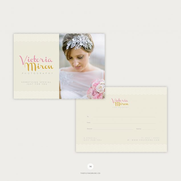 photo gift certificate - the Flying Muse