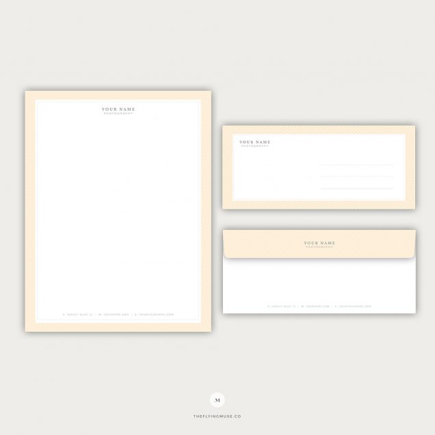 Stationery Templates - the Flying Muse
