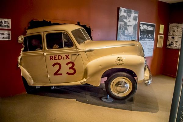 Redex car at Balladonia