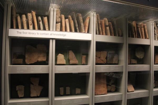 Ashaburnipal's library
