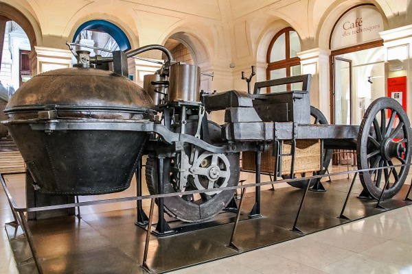 Cugnot's steam wagon