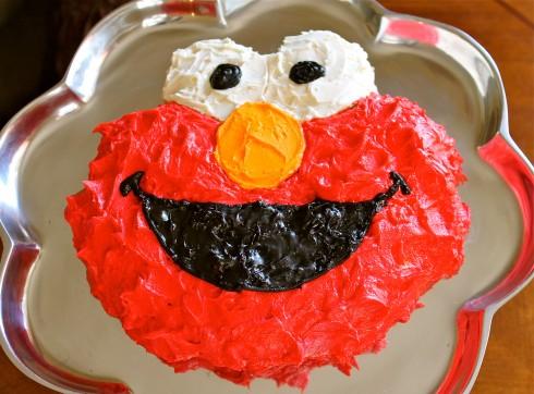 Elmo Cake Tutorial For Dummies Without An Elmo Cake Pan