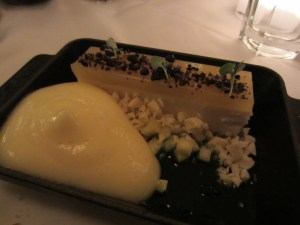 the chancery restaurant pineapple cheesecake