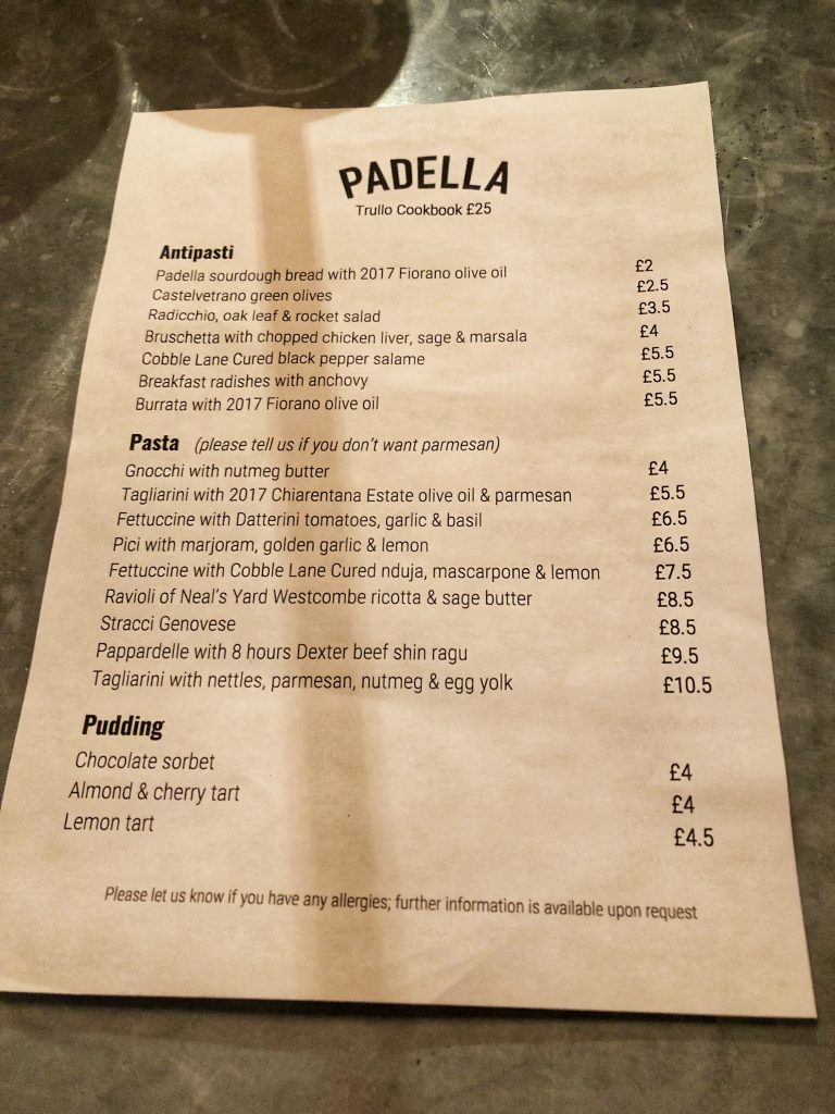 Padella Oil Padella Remarkable Affordable Pastas The Food Connoisseur