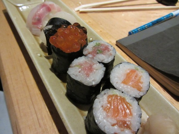 Matsuri st james assorted sushi