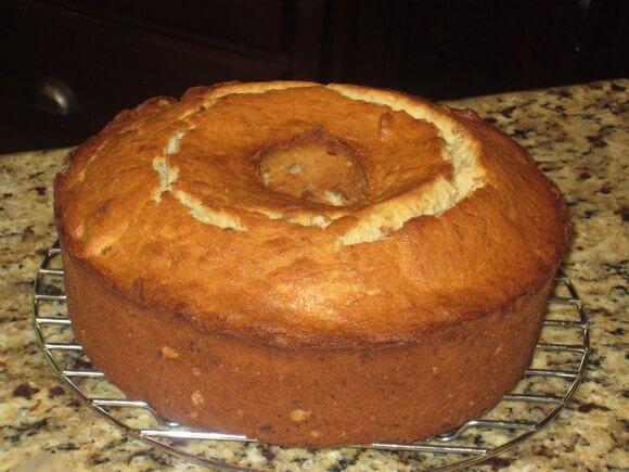 banana pound cake recipe picture (you go girl)