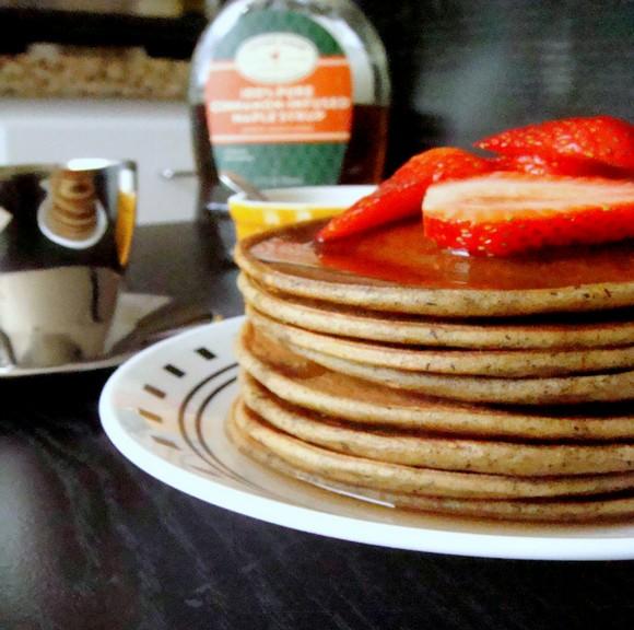 Avocado Buckwheat Pancakes recipe by Kitchen Kemistry