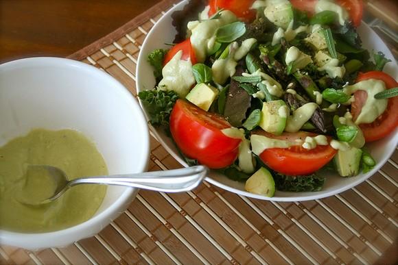 Avocado 'Caesar' Dressing recipe by Healthy Tasty Cheap