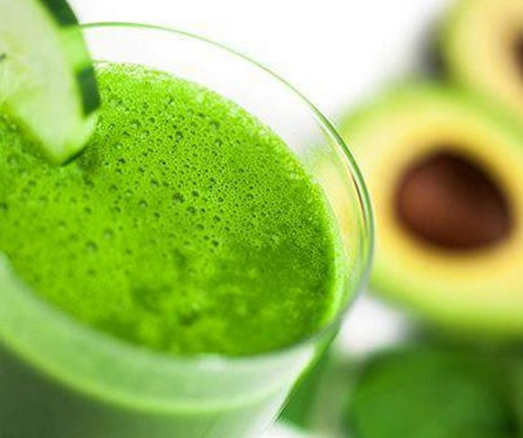 Lemon Avocado Green Drink recipe by FoodLve