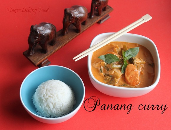 43. Panang curry with Tofu and Vegetables recipe by Home Cook Food