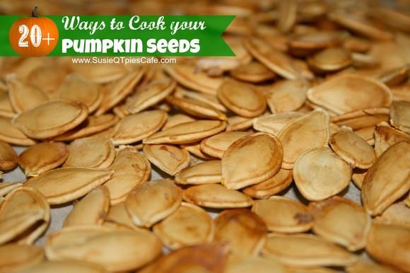 Baked Pumpkin Seeds recipe photo