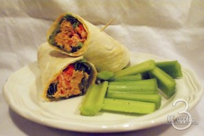 Buffalo Chicken Wraps recipe photo