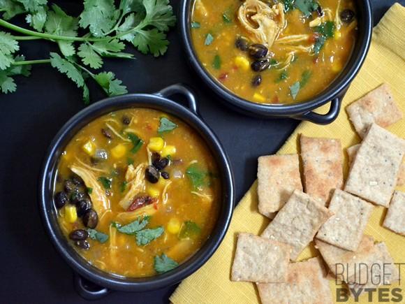 Chicken & Pumpkin Soup recipe photo