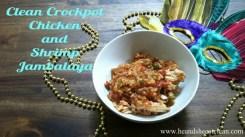 Clean Crockpot Chicken and Shrimp Jambalaya recipe photo