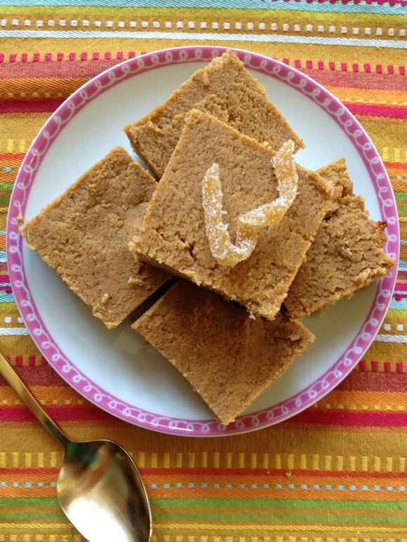 Coconut Flour Pumpkin Protein Bars recipe photo