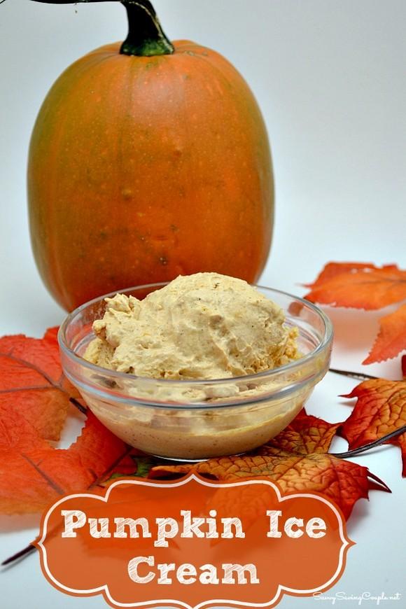 Creamy Pumpkin Ice Cream recipe photo
