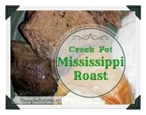 Crock Pot Mississippi Roast recipe photo