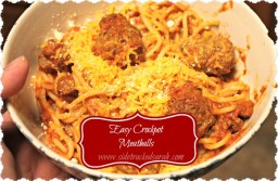 Easy Crockpot Meatballs recipe photo