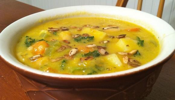 Pumpkin Soup recipe photo