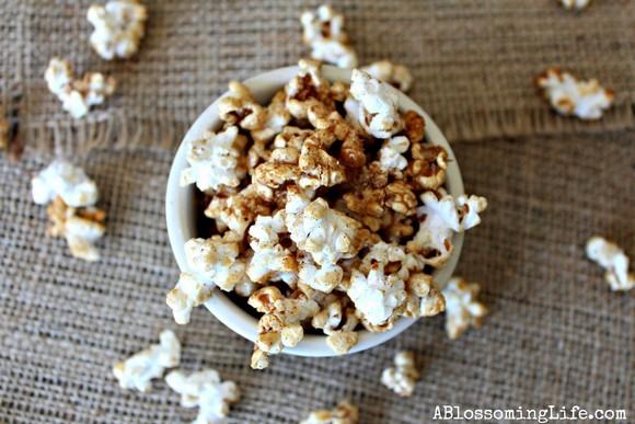 Pumpkin Spice Popcorn recipe photo