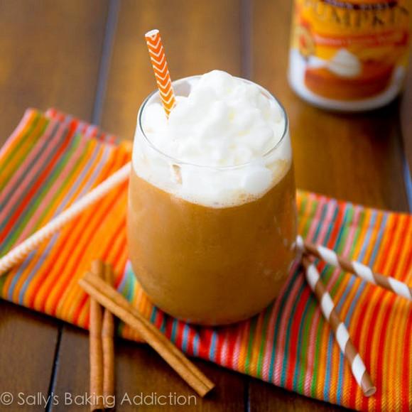 Skinny Pumpkin Frappucino recipe photo