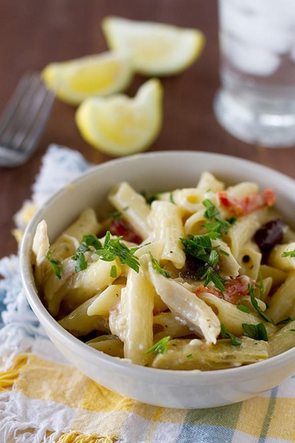 Greek Chicken Pasta recipe photo