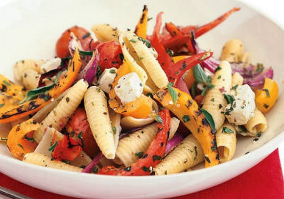 Grilled Vegetable Pasta recipe photo