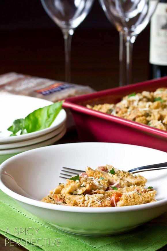 Italian-Style Mac & Cheese recipe photo