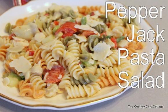 Pepper Jack Pasta Salad recipe photo