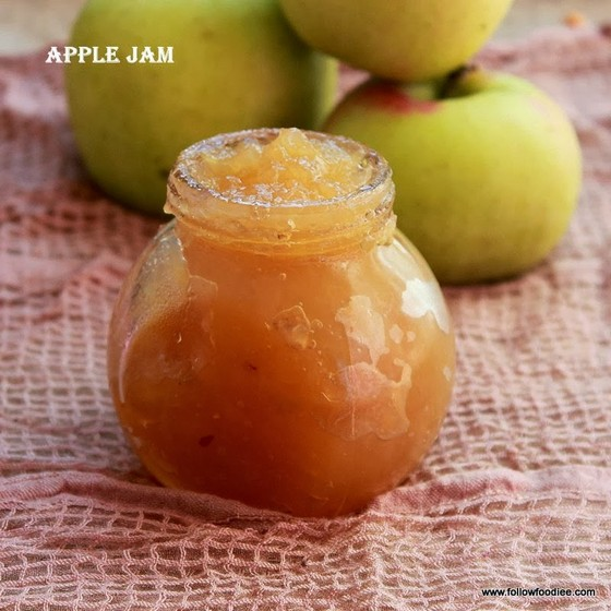 Apple Jam recipe photo