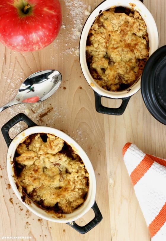 Easy Warm Apple Crisp recipe photo