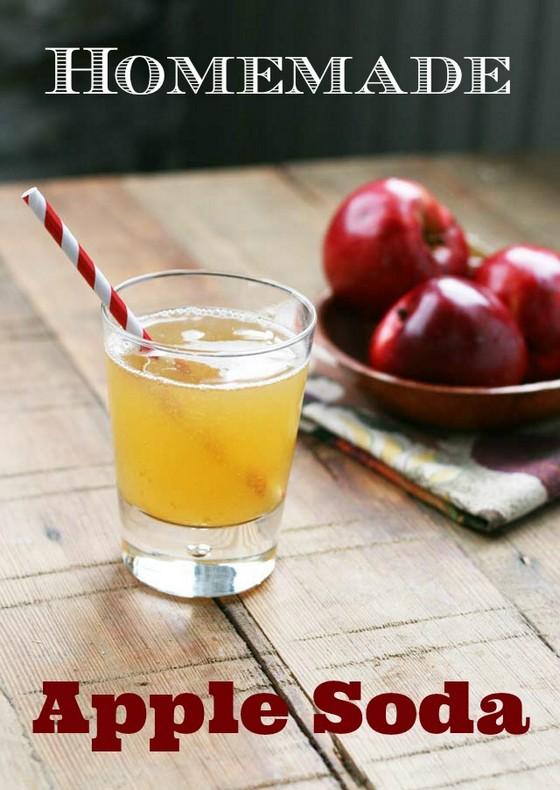 Homemade Apple Soda recipe photo
